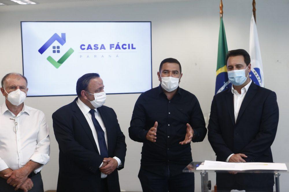 Programa Casa Fácil Paraná contempla São João do Triunfo com 35 novas moradias populares