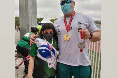 Iratiense é prata no arremesso de peso em Paralimpíadas Universitárias