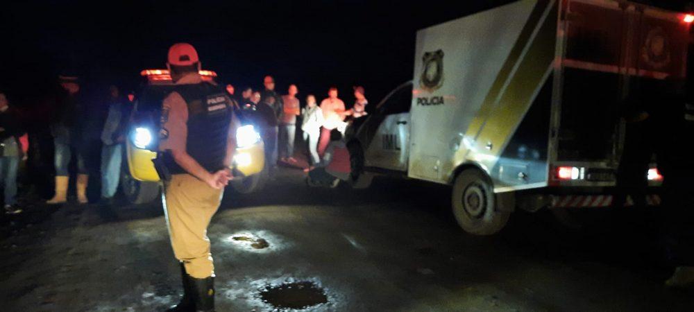 Idoso morre após ser atropelado na PR-281 em São Mateus do Sul