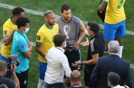 Anvisa interrompe jogo entre Brasil e Argentina após descumprimento de protocolo