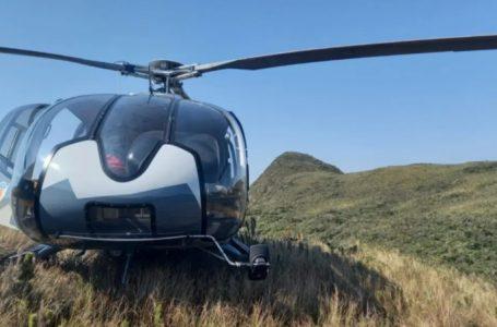 Montanhista cai de altura de 5 metros no Pico Paraná e é socorrido por helicóptero
