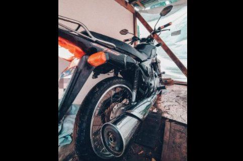 Moto é furtada em Antônio Olinto na quarta-feira (15)