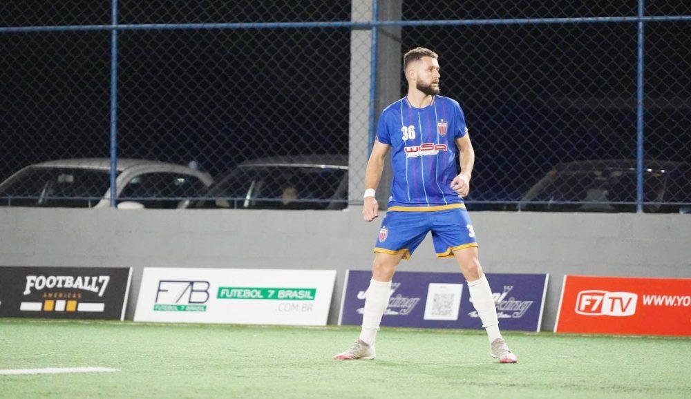 São-mateuense é destaque do Irati/Wisa em partida na Liga Nacional de Futebol 7