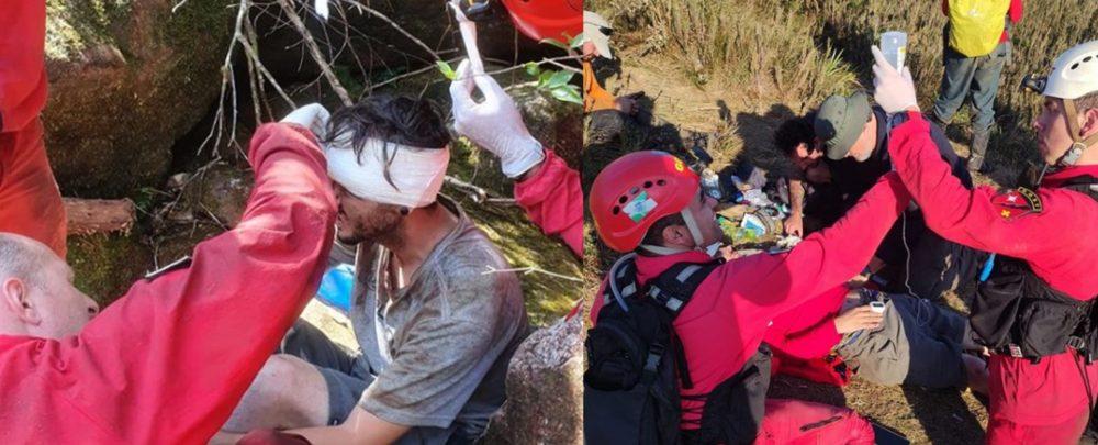 6 dias após desaparecimento, homem é resgatado com vida no Pico Paraná