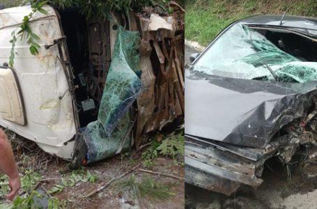 Mãe e filho estão entre três mortos na BR-280, em Três Barras