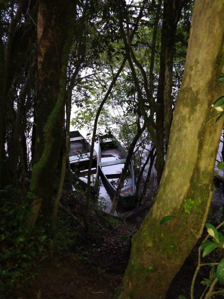 Bombeiros retomam buscas por pescador que caiu de embarcação no Rio Iguaçu, em Canoinhas