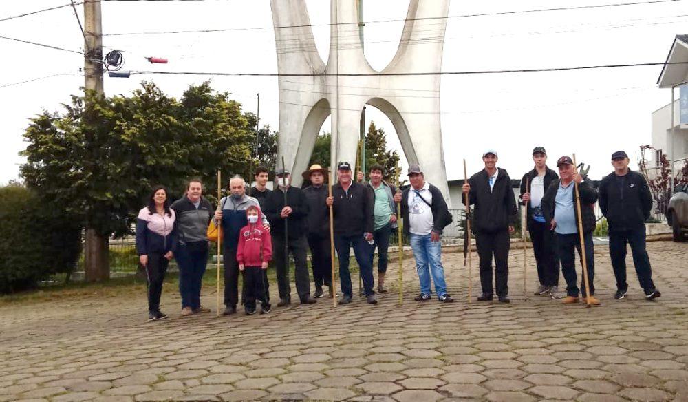 Moradores de São Mateus do Sul caminharão até Mafra em romaria