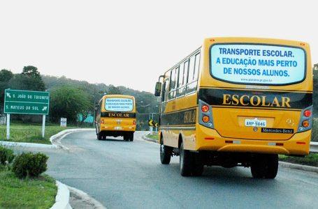 Secretaria de Educação anuncia retomada do transporte escolar em São Mateus do Sul